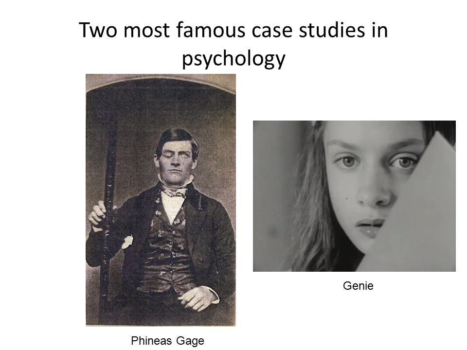 psychology case studies famous Case study in psychology refers to the use of a descriptive research approach to obtain an in-depth analysis of a famous case studies in psychology edit phineas.