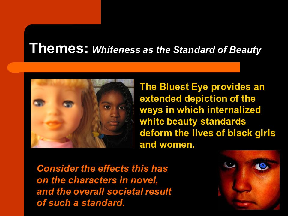 racism in the bluest eye