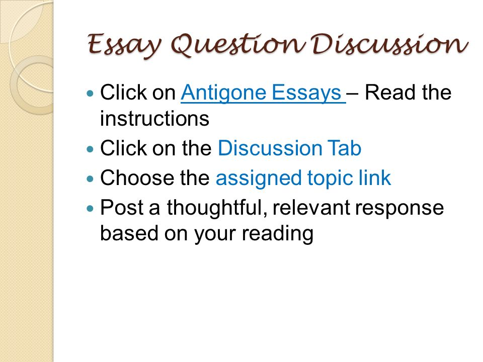 persuasive essay on antigone Antigone study guide contains a biography of sophocles, literature essays, quiz questions, major themes, characters, and a full summary and analysis.