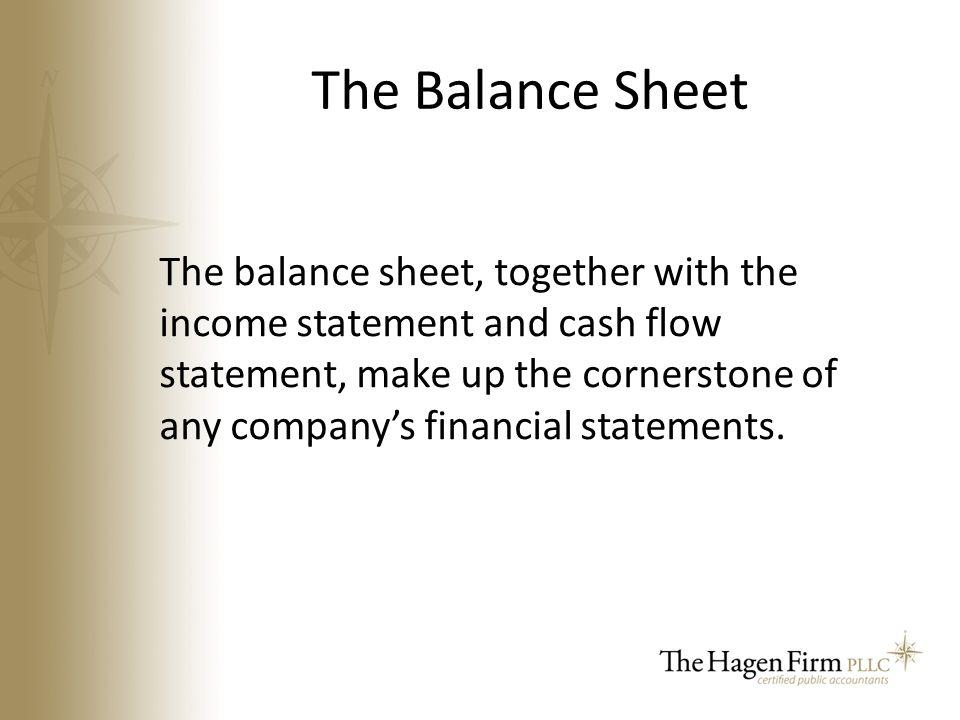 make a cash flow statement