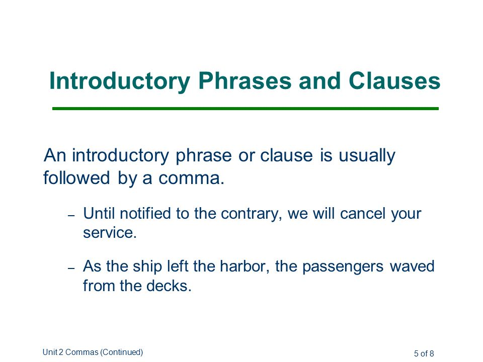introductory phrases bules penantly co