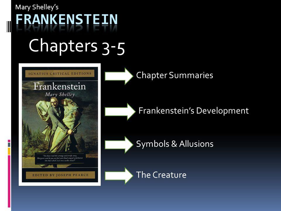 A Discussion Of The Theme Of Suffering In Mary Shellys Frankenstein