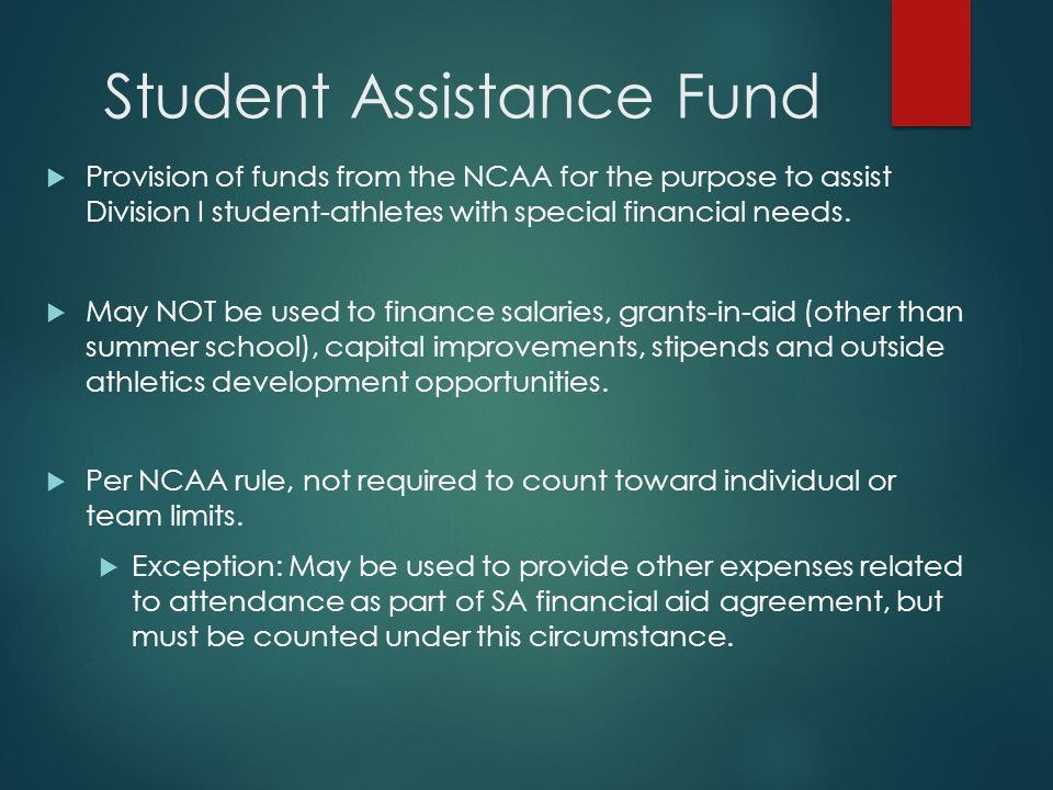 ncaa student athlete requirements