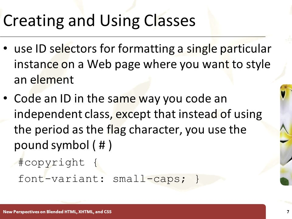 Introductory Tutorial 3 Using Css To Format Multiple Pages Ppt