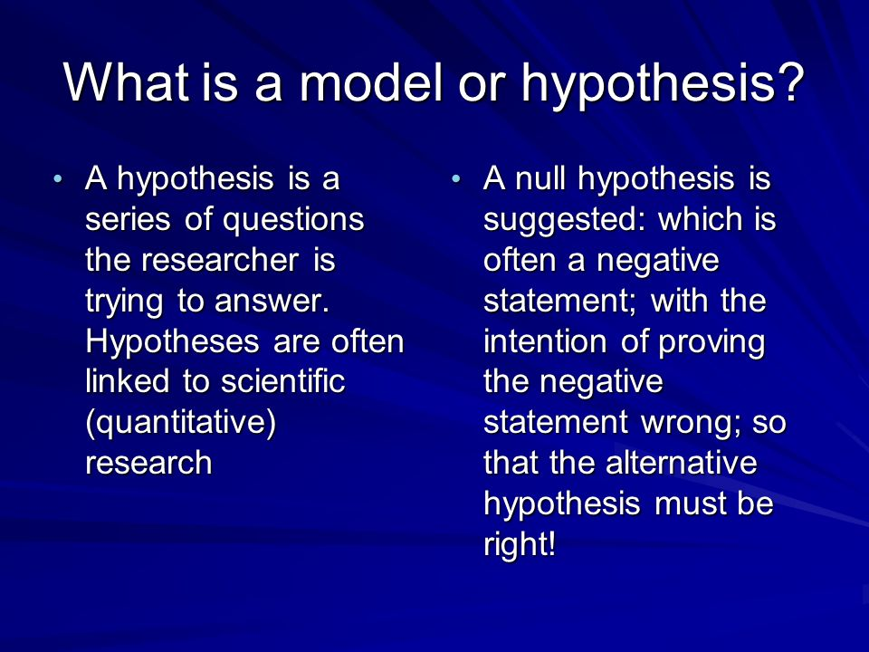 Importance Of Hypothesis In Research