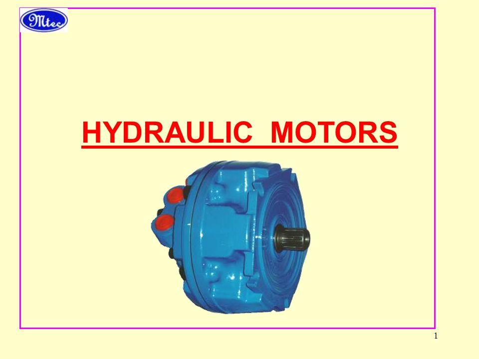 1 HYDRAULIC MOTORS
