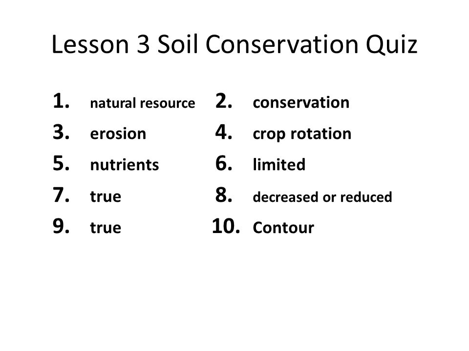 Printables Soil Conservation Worksheet earths surface chapter 2 weathering and soil 1 review lesson 3 conservation quiz natural resource erosion 5 nutrients 7