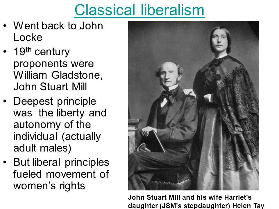 3 Classical liberalism ...