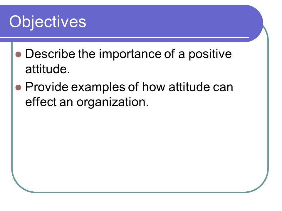 Attitude (pg 48-50)