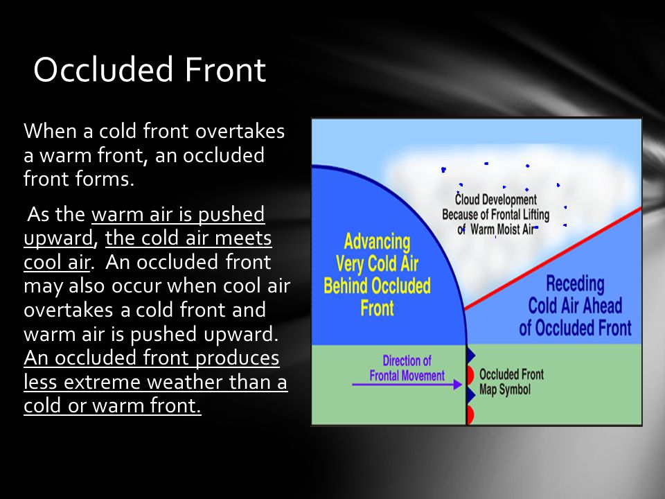 Weather Patterns Air Mass: A large body of air that has properties ...
