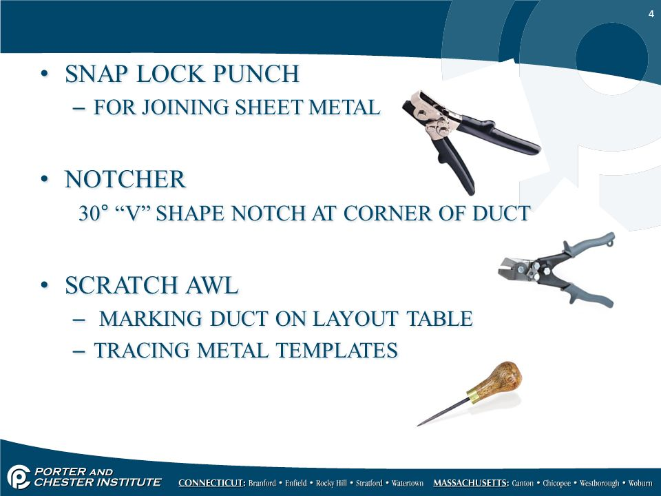 1 SHEET METAL THEORY II Hand Tools and Machinery. - ppt download