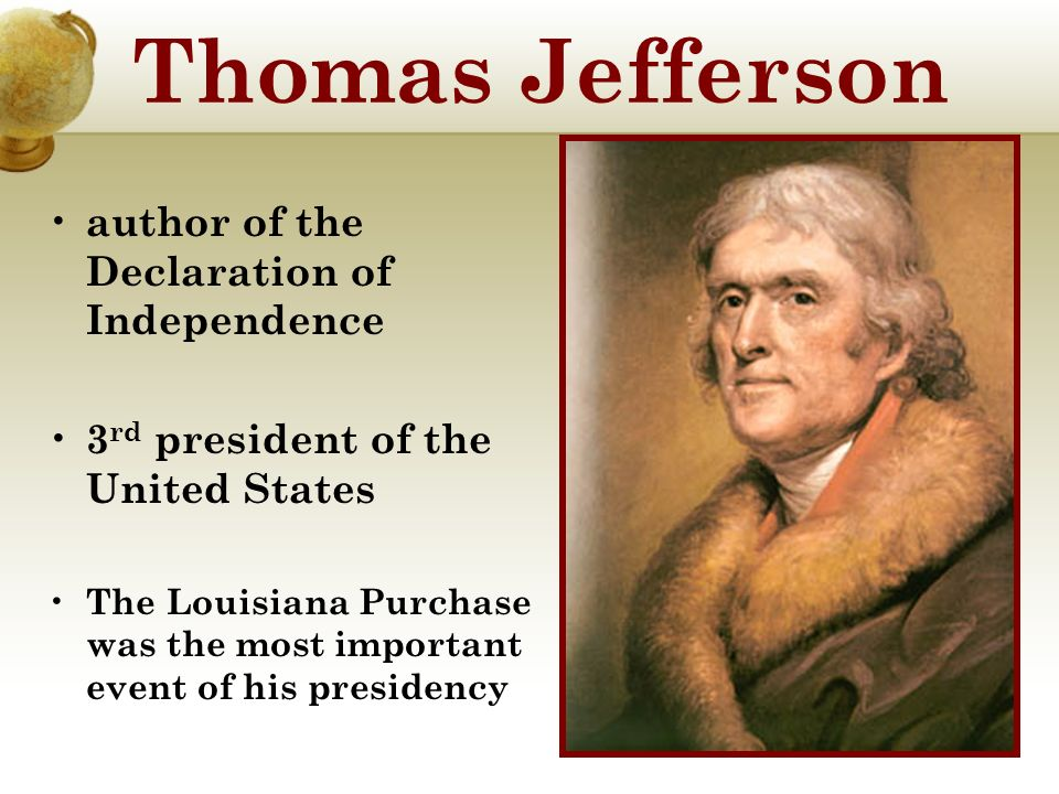 did thomas jefferson abandon his ideals by making the louisiana purchase This article takes a look at president thomas jefferson's motivations and the impact that the louisiana purchase had on the developing united states.