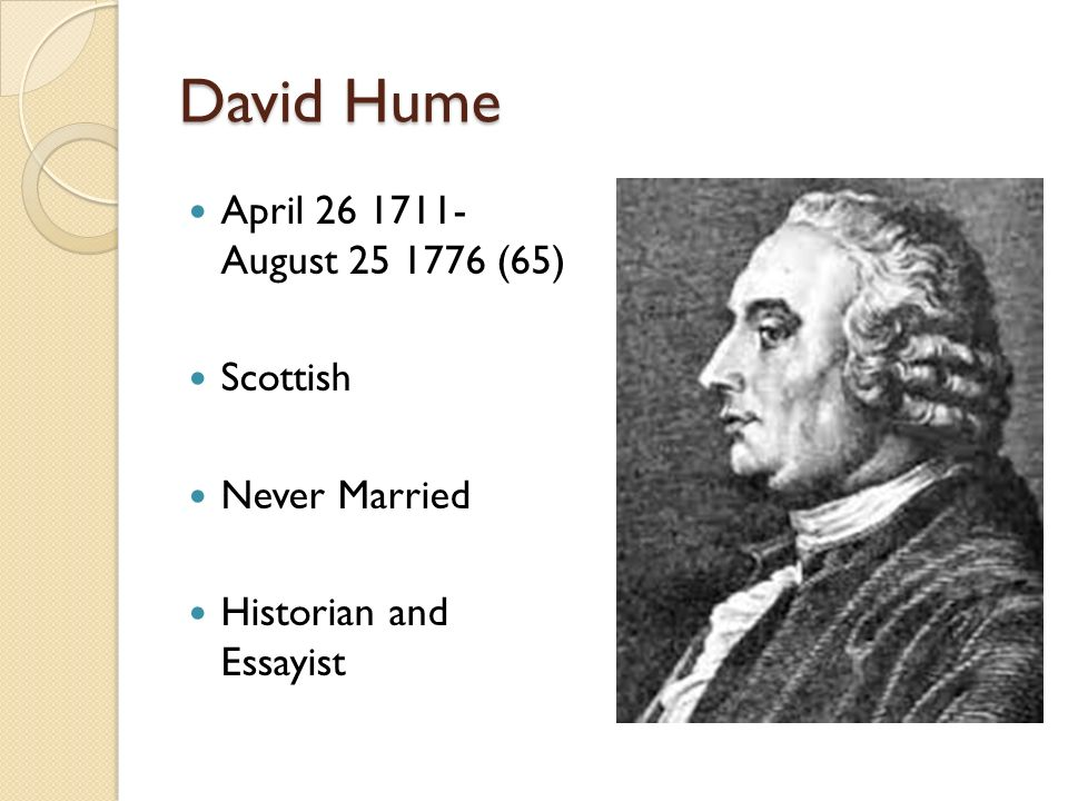 david hume essays online David hume, 1711-1776 frontispiece from philosophical works, edinburgh: black & co, 1826 having returned to scotland, he wrote at ninewells his essays.