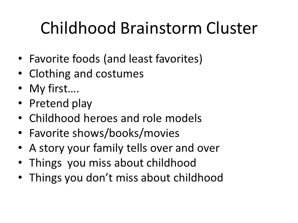 essay on favorite childhood memory My favorite childhood memory as time goes by, there was this event which happened during my childhood keeps grinding in my brain the one thing which i favor the most was to watch cartoon all day long.