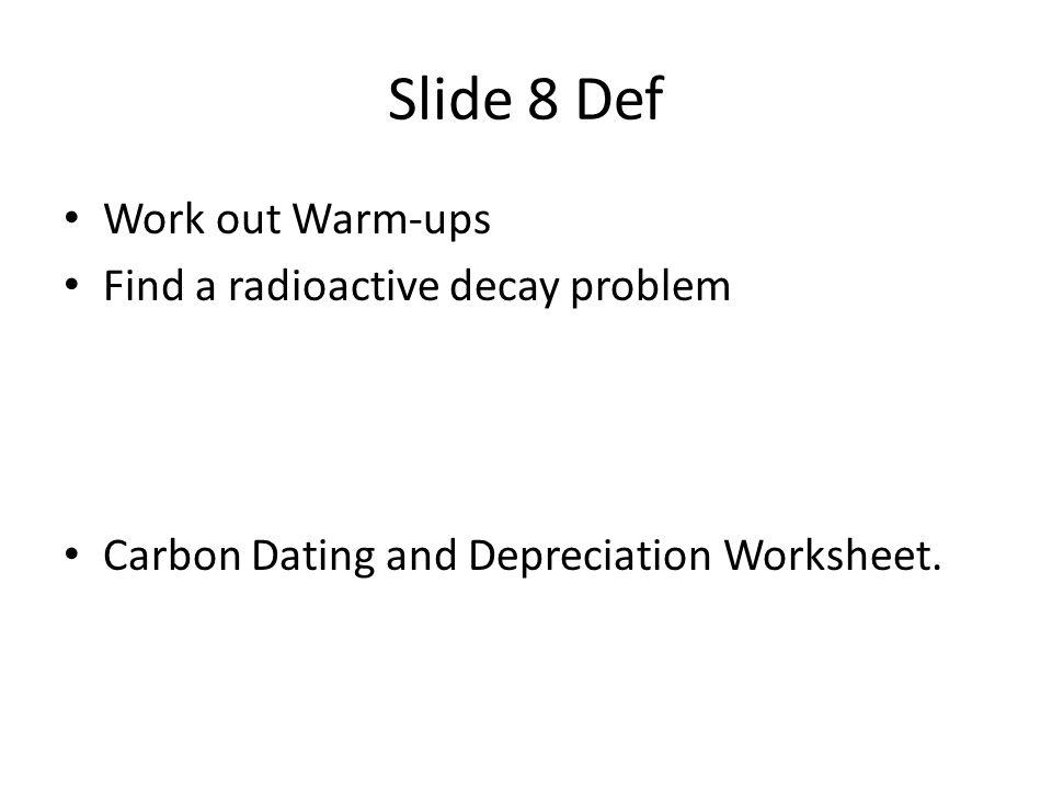Radiometric dating sentence