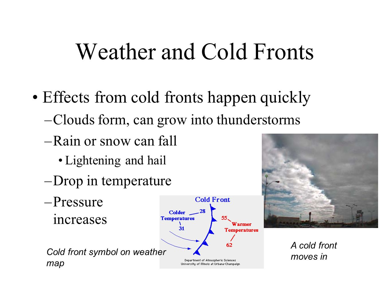 Day 47 investigation 9 part 2 air masses and weather maps ppt 18 weather buycottarizona Gallery