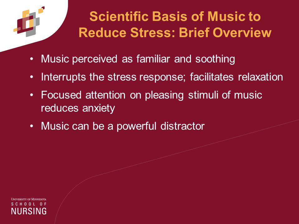 stress anxiety music