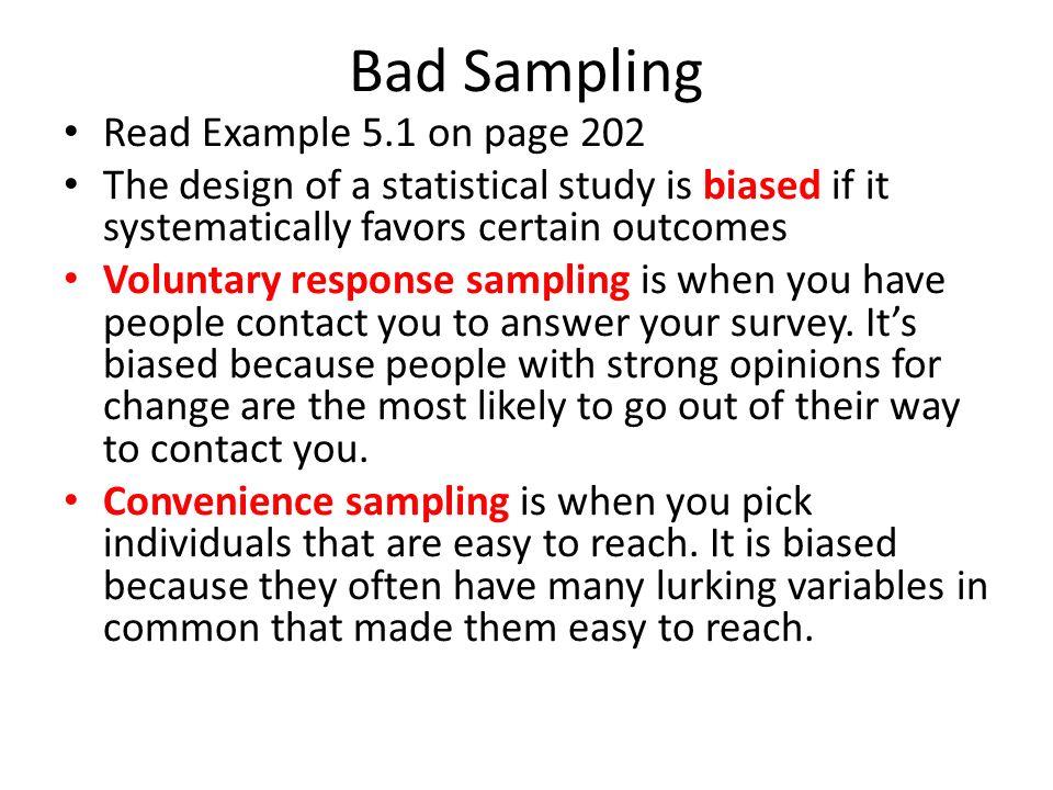 Sampling. Population vs. Sample Population – The entire group you ...