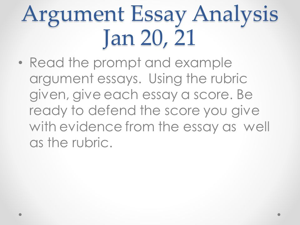 Argument essay template, if anyone wants it - Beat The