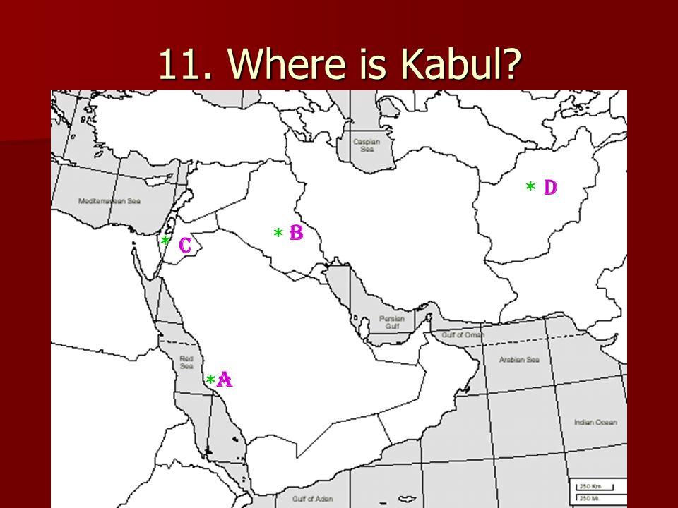 ME Map Quiz REVIEW Turkey Saudi Arabia Egypt Iraq Iran Syria - Where is kabul
