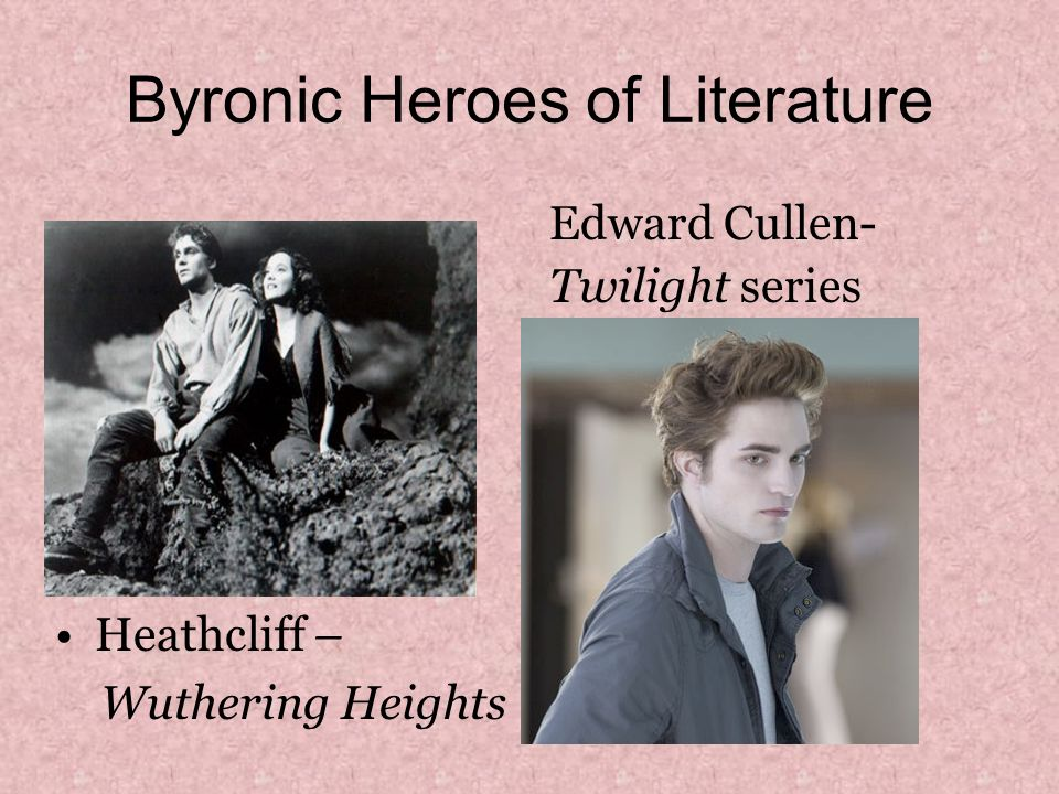 wuthering heights byronic hero essay