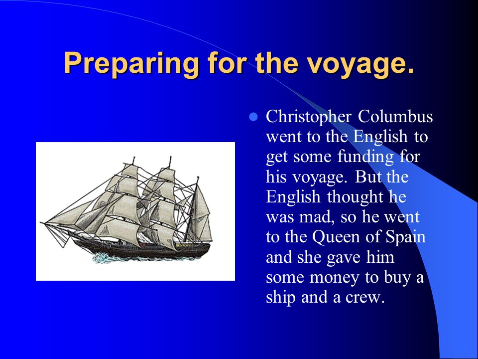 an overview of the famous voyage of spanish explorer christopher columbus Ferdinand and isabella sent a new governor to control it and paid off columbus by allowing him to fit out a fourth voyage (1502–04) at their expense he explored much of the coast of central america vainly seeking at panama a strait that would lead him to japan, until his poorly equipped ships became worm-eaten and unfit for the voyage home.