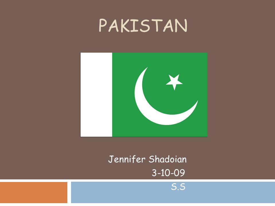 PAKISTAN Jennifer Shadoian SS Geography Absolute Location N - Jerusalem absolute location