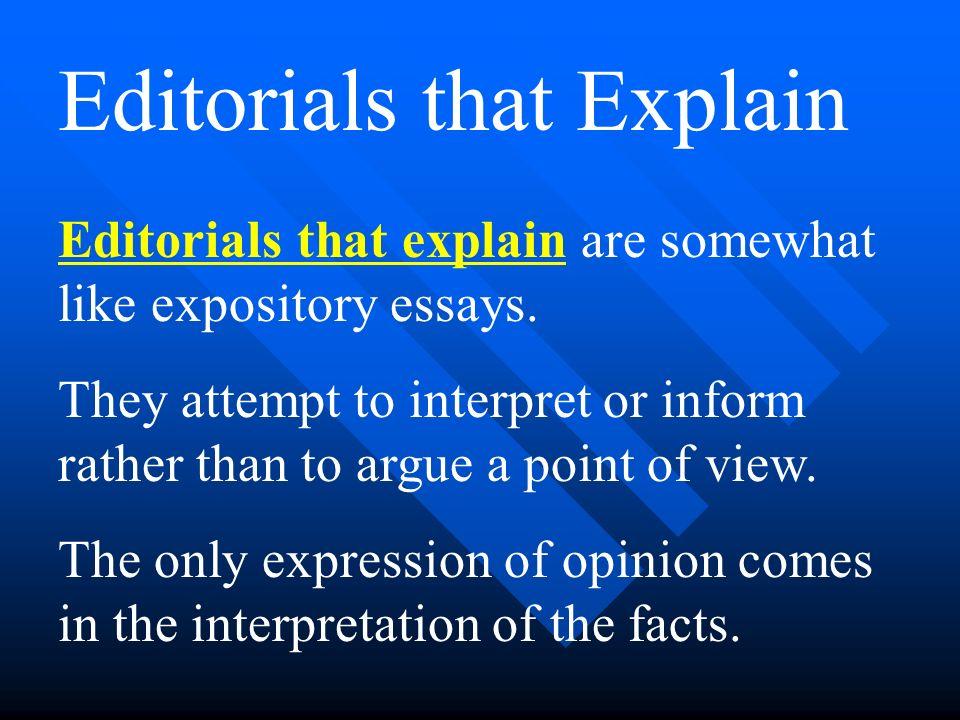 writing editorial essay Akademik i̇statistik  konular  writing an editorial essay definition - 615390 anasayfa  forumlar  açımlayıcı ve doğrulayıcı faktör analizi arasındaki farklar nelerdir.