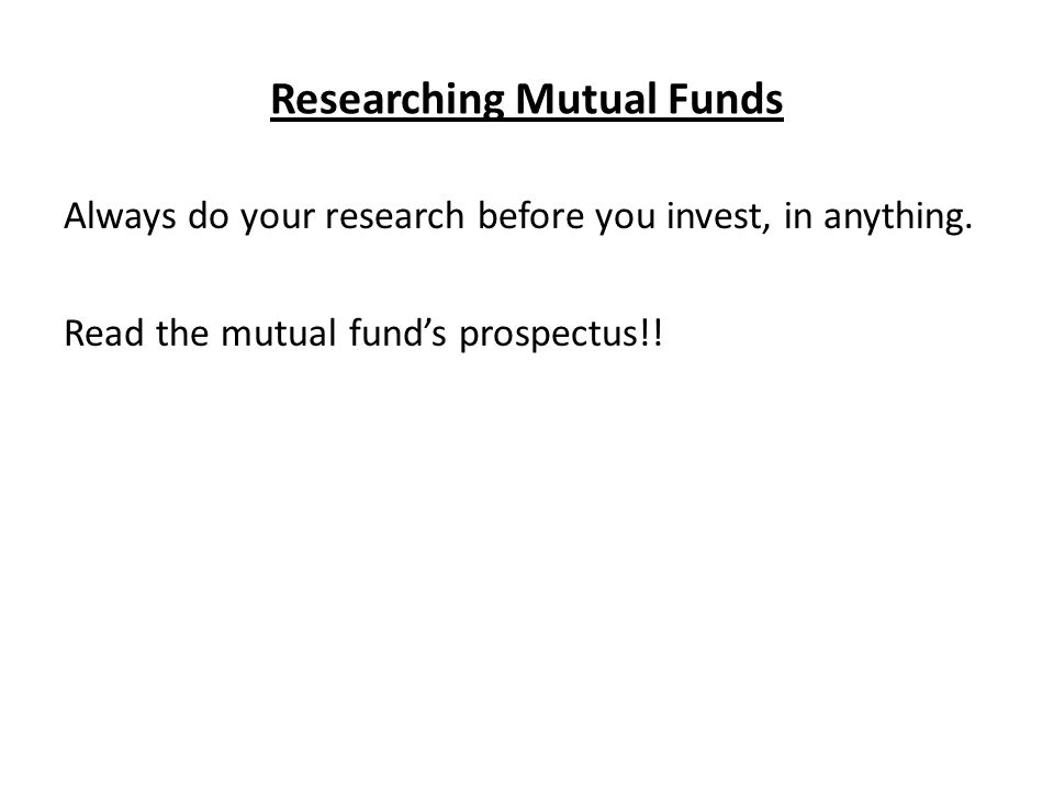 What Are Mutual Funds Quick Fact As Of June 2014 An Estimated 100