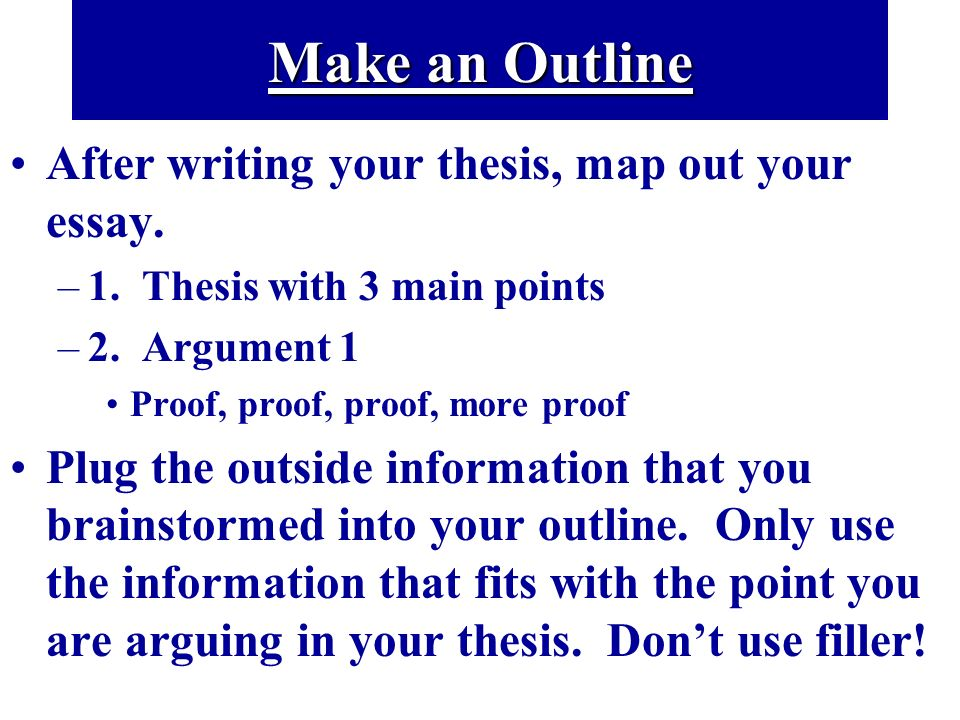Evaluation Argument Essay