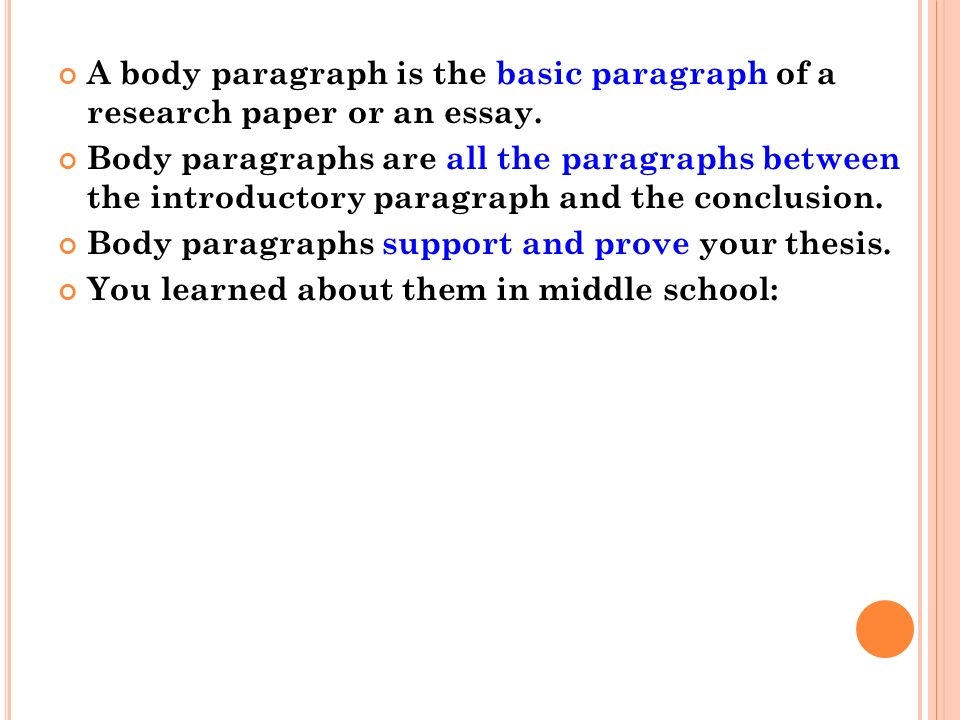 good concluding paragraph for research paper A conclusion is the last paragraph in your research paper, or the last part in any other type of presentation why do it a conclusion is like the final chord in a song.
