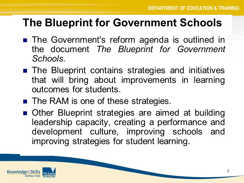 1 blueprint funding reform resource allocation model ppt download 3 the blueprint for government schools the government s reform agenda is outlined in the document malvernweather Choice Image