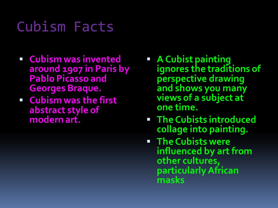 Cubism. What is cubism?  An early 20th-century style and ...