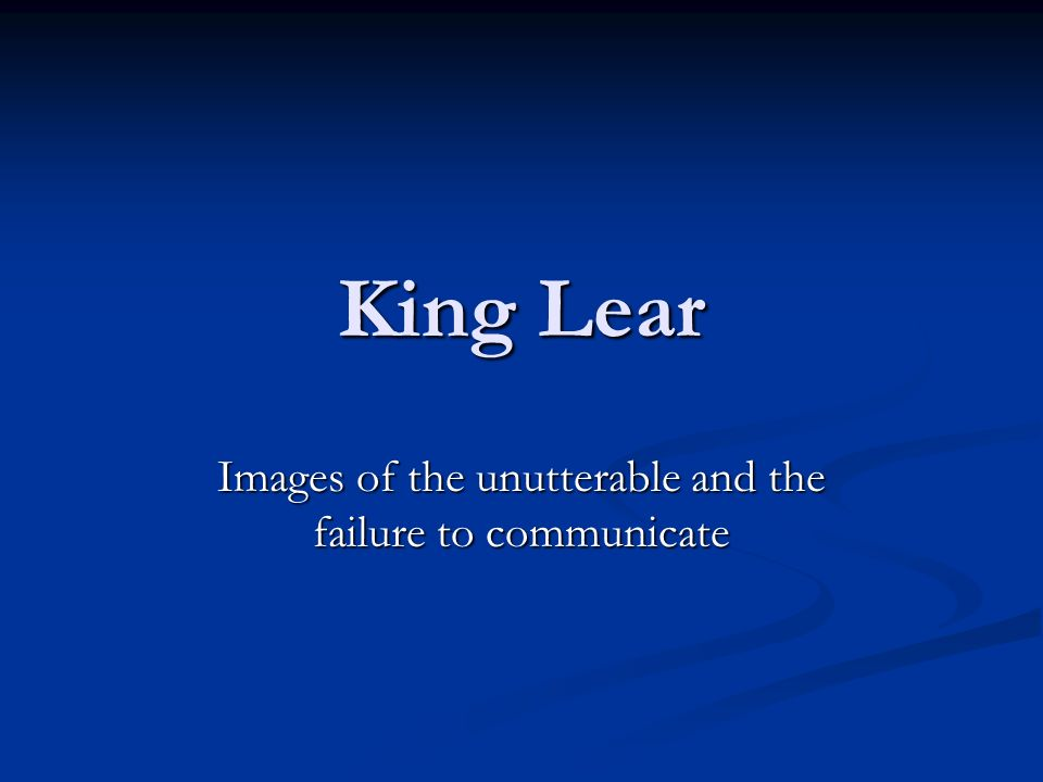 king lear animal imagery theme Scenes 1–2 in william shakespeare's king lear his wife's cruelty raises the theme of redemption lear, albany uses animal imagery to describe.