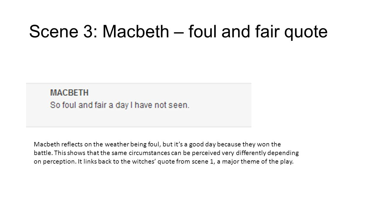 Quotes About Play Macbeth Act I Key Quotes And Notesmacbeth Is A Tragedy Play