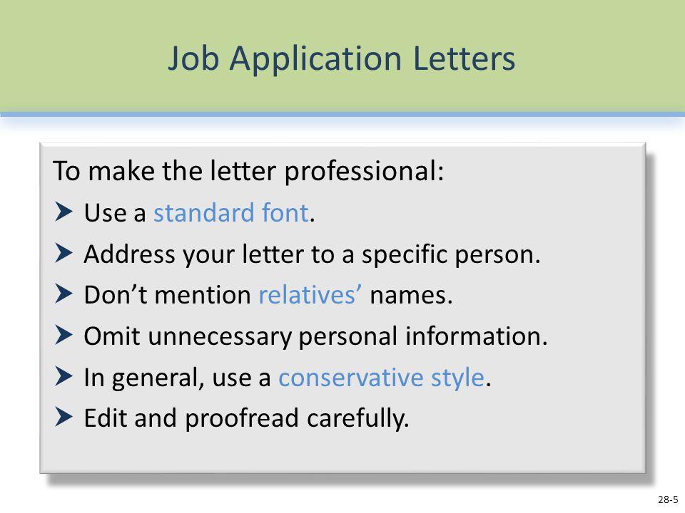 Internal job position cover letter sample