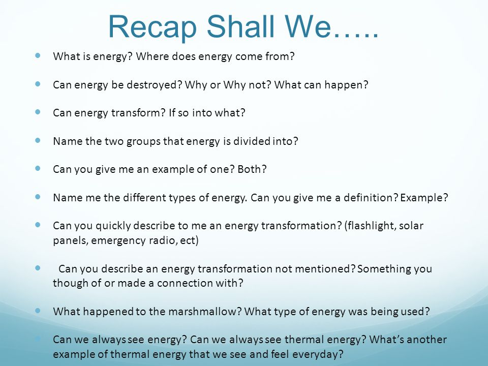 Energy Conversion Examples In Daily Life Ace Energy
