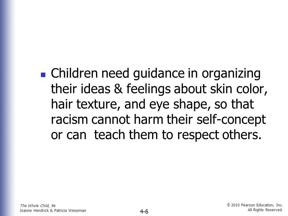 The Whole Child, 9e Joanne Hendrick & Patricia Weissman © 2010 Pearson Education, Inc.