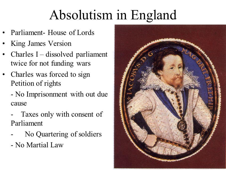 englands development into a monarchy