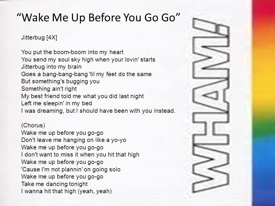 song wake me up