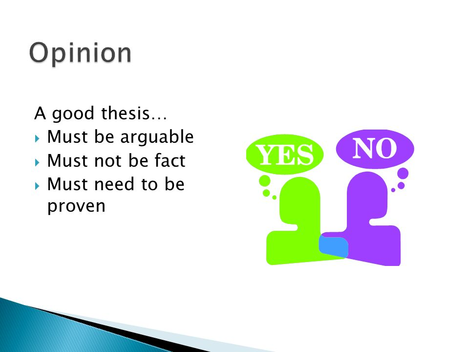 Best Thesis Statements