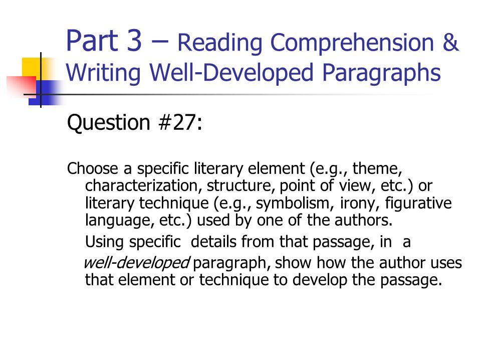 english regents essay questions