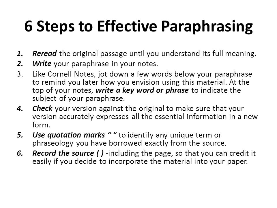 effective paraphrasing com jun 15 it is a complete sentence mostly and sarah is right her thesis does organize the essay it has her effective paraphrasing opinion