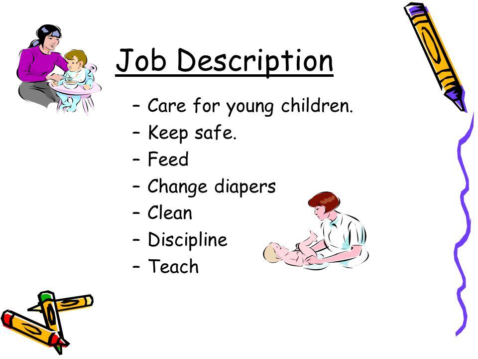 child caregiver job description - Ex