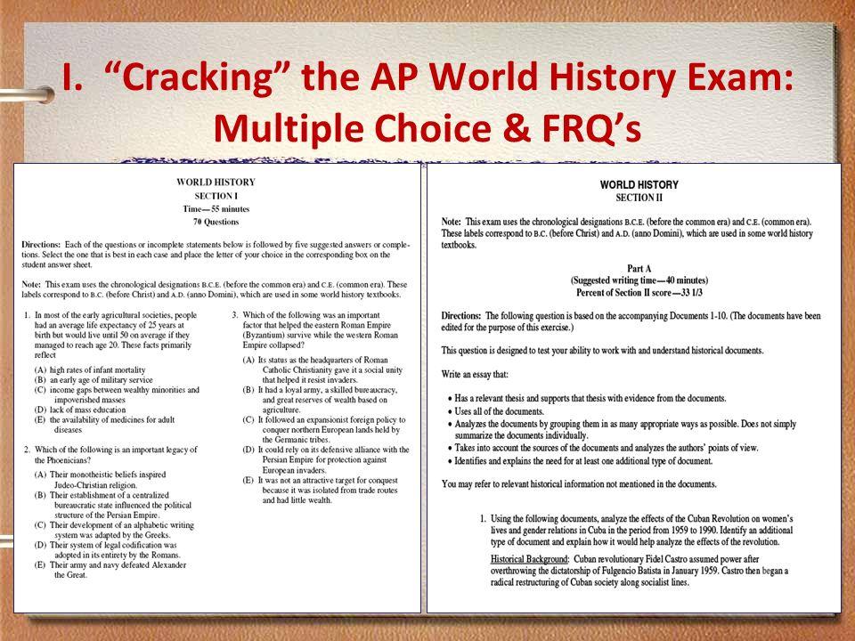 How Hard is the AP World History Exam?