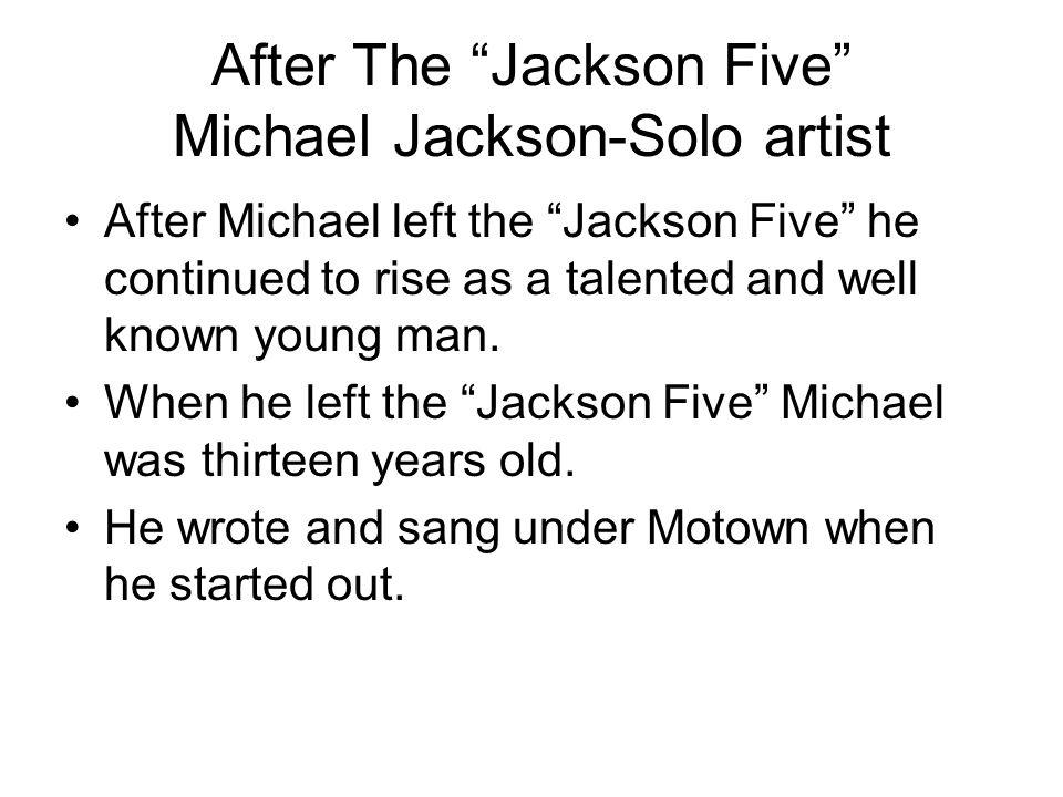 jackson five michael