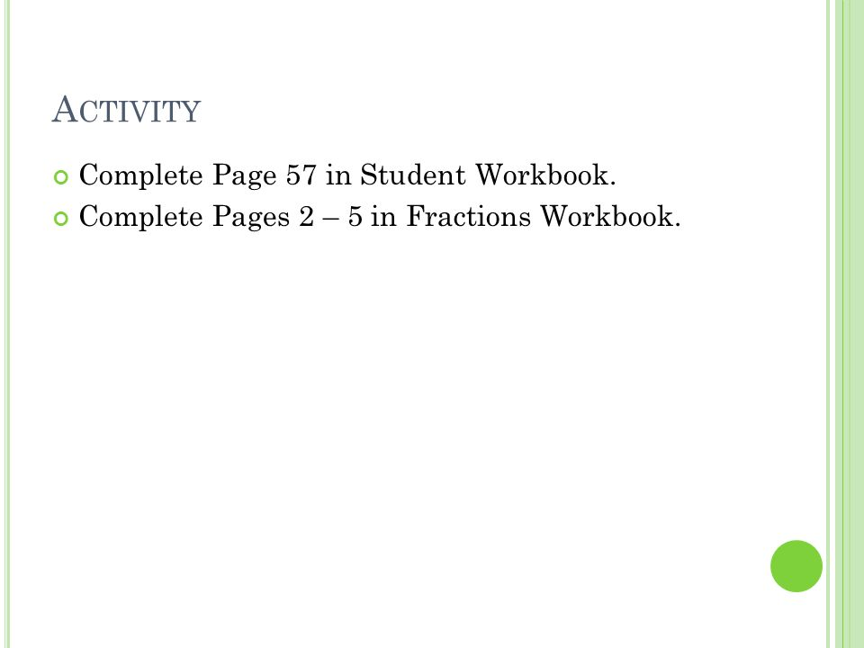 F RACTIONS Grade 5. R EVIEW OF F RACTIONS Vocabulary. - ppt download