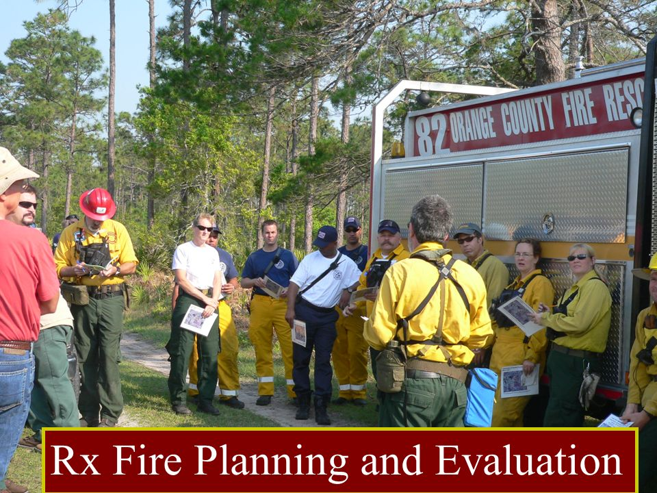 Rx Fire Planning and Evaluation