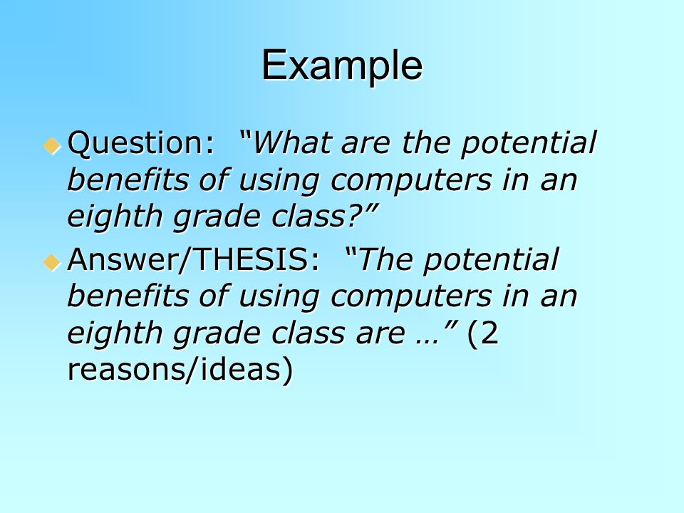 benefits of using a computer essay Advantages of using computers computers obviously wouldn't be as popular as they are essay about advantages of using computer in high education.