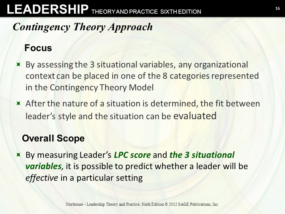 leadership styles and theories Learn about the trait theory of leadership, including how it was developed and associated research explore some key leadership traits.
